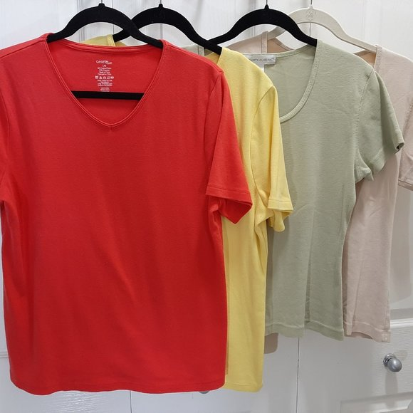 Four Summer Tees - George and Segments